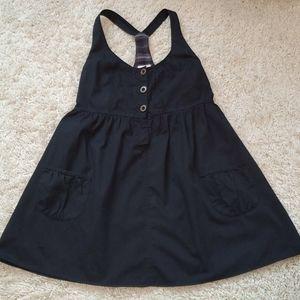 Mossimo Supply Black Racerback Short Dress - L